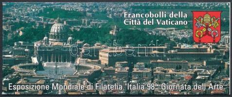 Nemzetközi Bélyegkiállítás  ITALIA '98 International Stamp Exhibition ITALIA '98