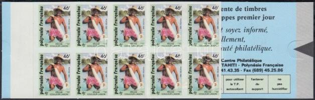 Fishing self-adhesive stamp-booklet Halászat öntapadós bélyegfüzet