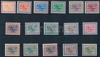 1960/1962 Forgalmi sor Mi 87-102