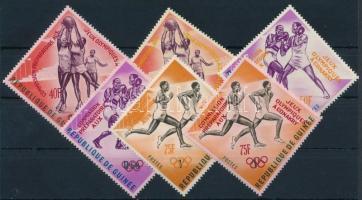 Nyári Olimpia felülnyomott sor Summer Olympics overprinted set