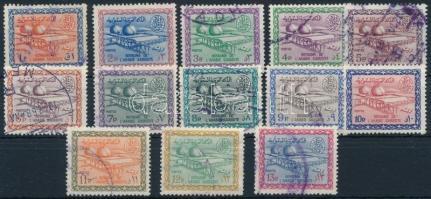1964/1970 Definitive 13 values 1964/1970 Forgalmi 13 érték