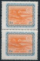 1963/1964 Oil refinery folded pair 1963/1964 Olajfinomító hajtott pár