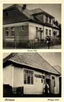 Alsóapsa, Nyzhnya Apsha; Orvosi lakás, Hangya üzlet / doctors house, cooperative shop