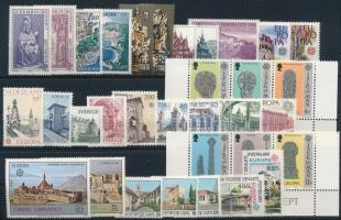 Europa CEPT 65 különféle bélyeg, Europa CEPT 65 stamps