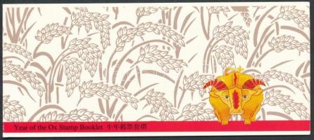 Kínai újév, bivaly éve bélyegfüzet Chinese New Year, Buffalo year stampbooklet