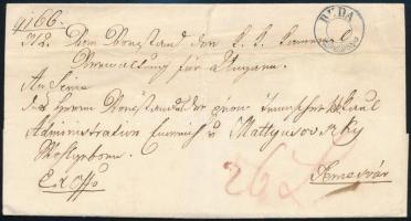 1849 Ex offo kék / blue BUDA dátum nélkül / without date