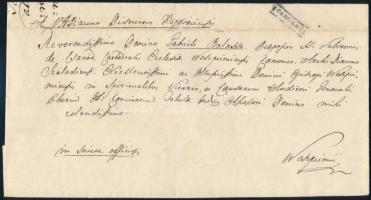 1837 Ex offo ÖREGLAK - Weszprimi