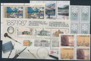 1976-1991 15 klf bélyeg + blokk 1976-1991 15 stamp + block