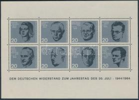 20th anniversary of Hitler's attack block, Hitler elleni merénylet 20. évfordulója blokk