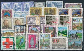 1975-1988  32 klf bélyeg, köztük több összefüggés 1975-1988 32 diff stamps