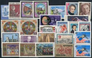 1980-1991 23 klf bélyeg, köztük több összefüggés 1980-1991 23 diff stamps