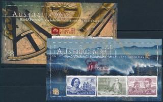 Nemzetközi bélyegkiállítás blokk sor International stamp exhibition block set