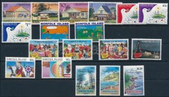 1981-1992 18 klf bélyeg 1981-1992 18 stamps