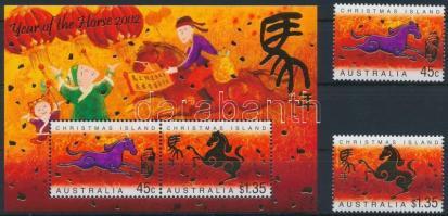 Kínai Újév; Ló éve sor + blokk Chinese New Year; Horse Year set + block