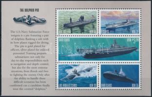Az Amerikai Egyesült Államok Haditengerészetének tengeralattjárói blokk The US Navy's Submarine block