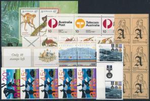 1974-2000 28 db bélyeg, közte összefüggések, párok és 1 db blokk 1974-2000 28 stamps + 1 block