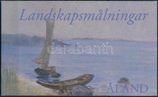 Nyári táj bélyegfüzet Summer landscape stamp-booklet