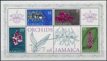 Orchids block Orchideák blokk