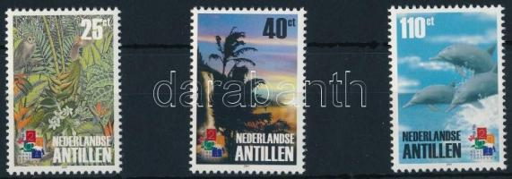 Bélyegkiállítás sor Stamp Exhibition set