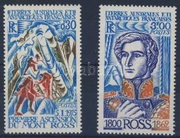 1976 A Mont Ross megmászásának 2. évfordulója Mi 109-110
