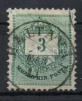 1881 3kr BALTAVÁR