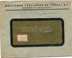 1946 (14 díjszabás) ismeretlen jelzéssel visszaküldött távolsági levél 25x80 ezer p Lovasfutár bérmentesítéssel