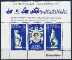 II. Erzsébet királynő kisív Queen Elisabeth II. mini sheet