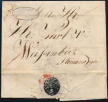 ~1835 Franco levél / cover Szala/Egerszegh - Steinamanger