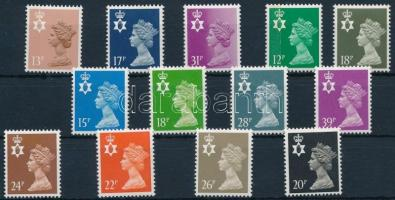 1984-1990 13 stamps 1984-1990 13 klf önálló forgalmi érték