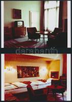 cca 1960 Budapest, Hotel Gellért, 12 db vintage negatív (6x7 cm) és 7 db mai nagyítás, 10x15 cm
