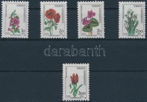 Forgalmi: Virágok sor Definitive: Flowers set