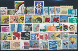 1983-1985 11 klf sor + 11 klf önálló érték 1983-1985 11 sets + 11 stamps