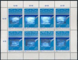 Osztrák export hologramos kisív Austrian export hologram mini sheet