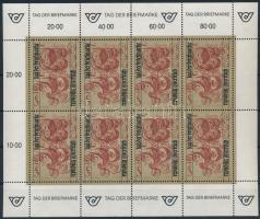 Bélyegnap kisív Stamp Day mini sheet