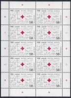 150 éves a Vöröskereszt kisív 150th anniversary of Red Cross mini sheet