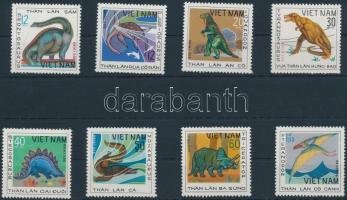 1979 Dinoszaurusz sor Mi 1007-1014