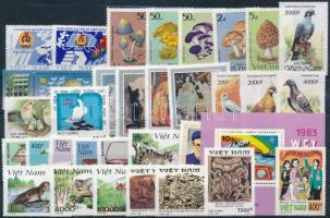 1993-1999 5 klf sor + 12 klf önálló érték + 1 blokk 1993-1999 5 set + 12 stamp + 1 block