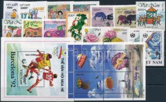 1995-2006 6 klf sor + 3 klf önálló érték + 1 blokk + 1 kisív 1995-2006 6 set + 3 stamp + 1 block + 1 minisheet