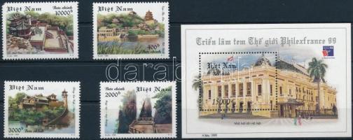 Bélyegkiállítás sor + blokk Stamp Exhibition set + block