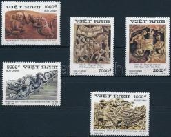 Szobrászat sor Stamp Exhibition set