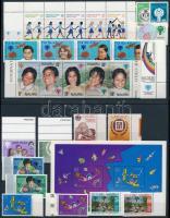 Nemzetközi Gyermekév motívum 9 klf sor + 2 db blokk + 2 db önálló érték International Children's Year 9 set + 2 block + 2 stamp