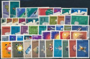 Űrkutatás 1962-1966 7 klf sor Space Research 1962-1966 7 sets