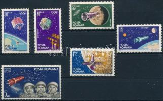 Űrkutatás sor Space Research set