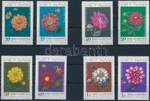 1982 Dáliák sor Mi 1240-1247