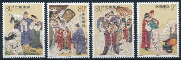 Mese; Liu Yi története Tale; Liu Yi's story
