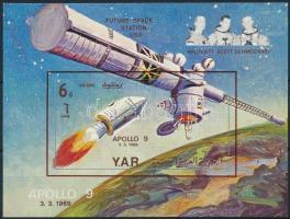 Űrkutatás blokk Space Research block