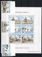 1979 Európa CEPT a posta és távközlés története Mi 1375-1377 + blokk 15