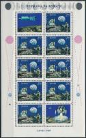Űrrepülés kisív Space Travel mini sheet