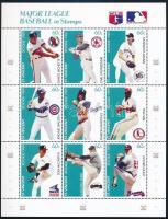 Baseball kisív sor Baseball mini sheet set