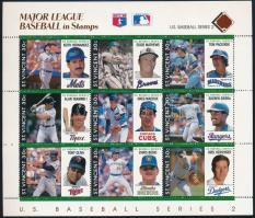 Baseball kisív sor (9 db kisív) Baseball mini sheet set (9 mini sheets)